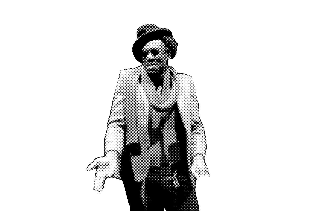 Portrait d'Amakoé de Souza - Jean-Christophe Folly